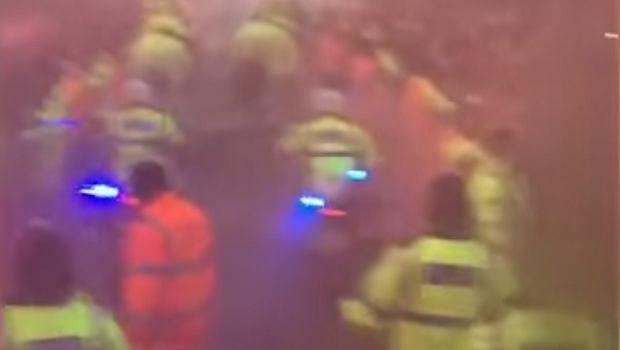 Η επίθεση των οπαδών της Λίβερπουλ μέσα από το πούλμαν της Σίτι!   panathinaikos24.gr