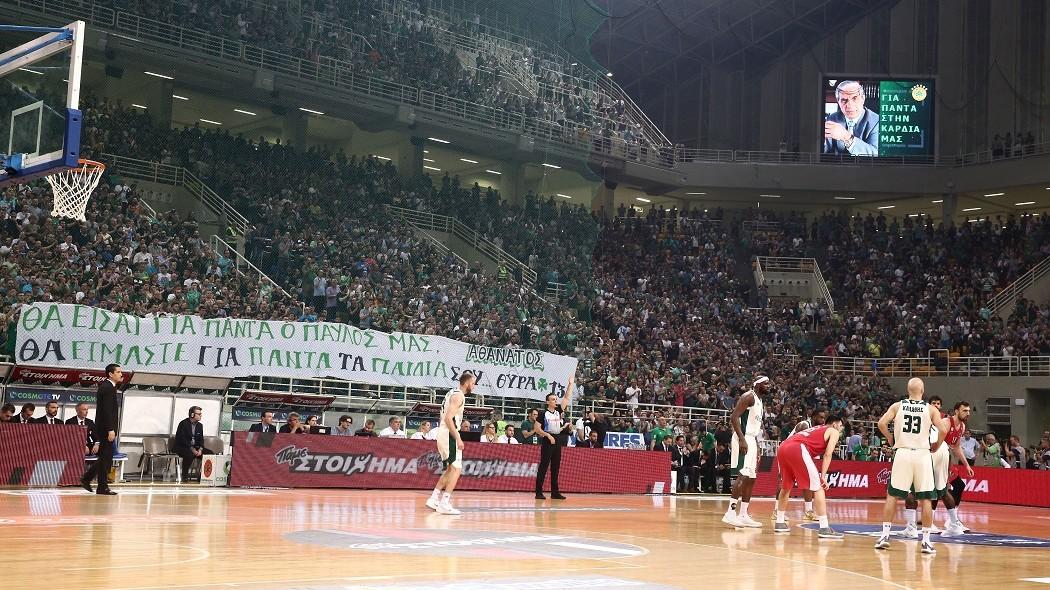 H φωτογραφία από το ΟΑΚΑ που θα μείνει για πάντα στη μνήμη μας (pic) | panathinaikos24.gr