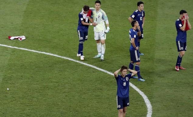 Σεβασμός στους Ιάπωνες: έχασαν, αποκλείστηκαν, καθάρισαν τα αποδυτήρια και είπαν κι «ευχαριστώ»! (pic) | panathinaikos24.gr