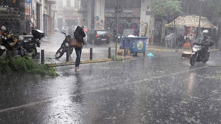 ΚΑΙΡΟΣ: Η πρόγνωση για τη Δευτέρα – Βροχές και καταιγίδες (1/10/18)   panathinaikos24.gr