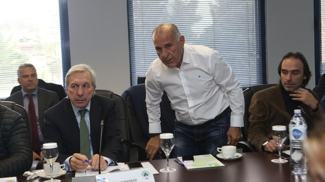 Κωνσταντίνου: «Θέλαμε επιτήρηση ή -3» | panathinaikos24.gr