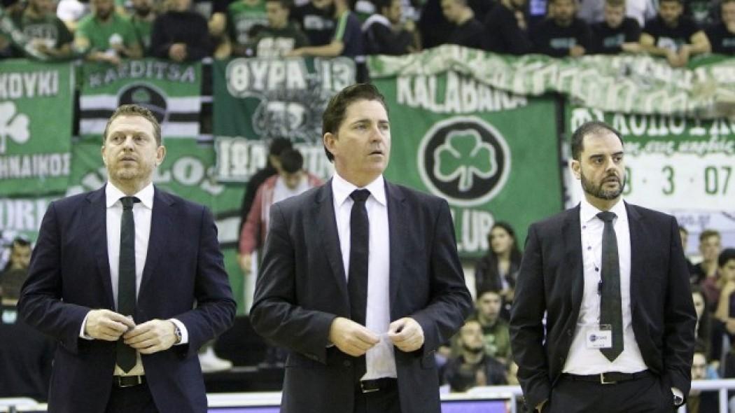 """Παναγιωτόπουλος: """"Είμαστε σε καλό δρόμο, ο προπονητής δουλεύει πολύ""""   panathinaikos24.gr"""