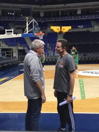 Δυο μύθοι μαζί: Ομπράντοβιτς και Πιτίνο τα λένε στην Κωνσταντινούπολη (pic) | panathinaikos24.gr