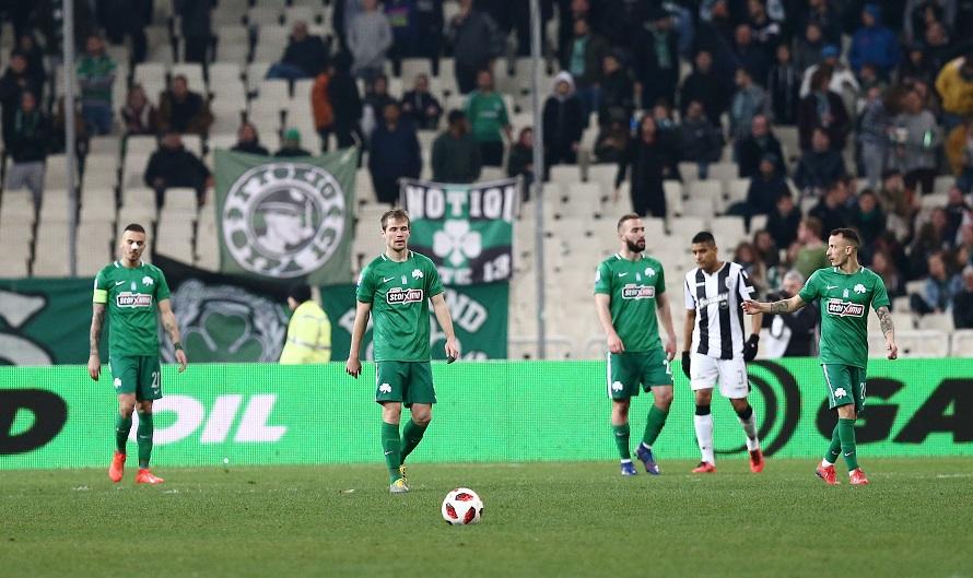 Παναθηναϊκός – ΠΑΟΚ 0-2: Προδόθηκε απ' τα λάθη του   panathinaikos24.gr