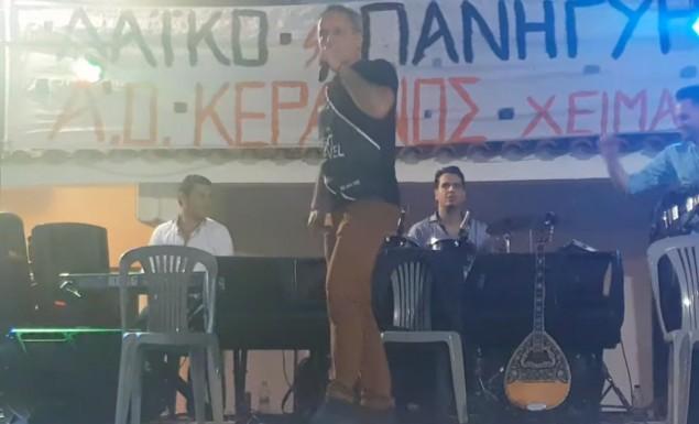Επος σε πανηγύρι στην Ηλεία: «Δε με θέλουν» και «200 στη στροφή» (video)   panathinaikos24.gr