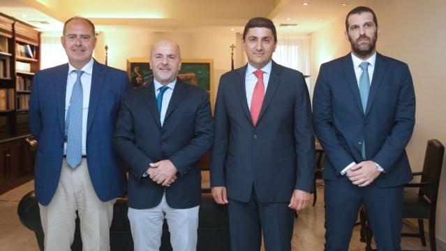 Ολοκληρώθηκε η συνάντηση Αλαφούζου – Αυγενάκη!   panathinaikos24.gr