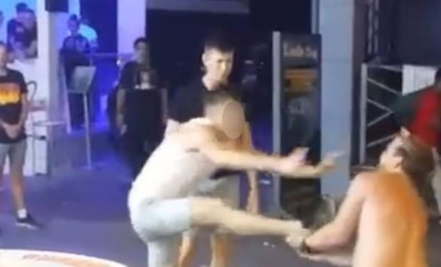 Άγριος καβγάς στην Αγία Νάπα: Μαχητής του MMA «ισοπέδωσε» δύο τουρίστες (vid) | panathinaikos24.gr