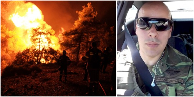 Συγκλονίζει ο εγκαυματίας πυροσβέστης: «Μας κύκλωσε η φωτιά στην Εύβοια» | panathinaikos24.gr