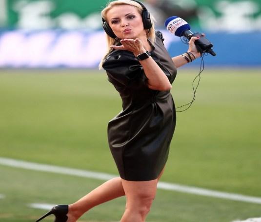 Αναστάτωσε το ΟΑΚΑ η Λίλα Κουντουριώτη (pics)   panathinaikos24.gr