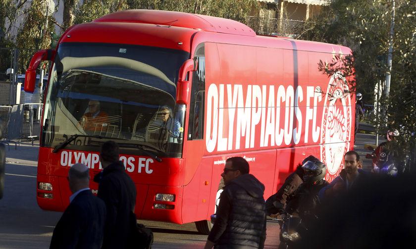 Έφτασε στο ΟΑΚΑ η αποστολή του Ολυμπιακού   panathinaikos24.gr