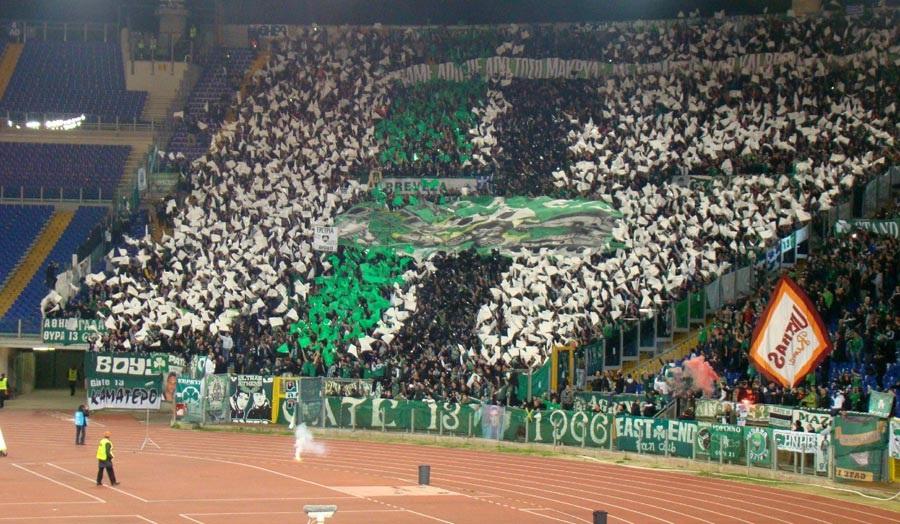 5 εξέδρες ελληνικών ομάδων που χάζεψαν γήπεδα της Ευρώπης | panathinaikos24.gr