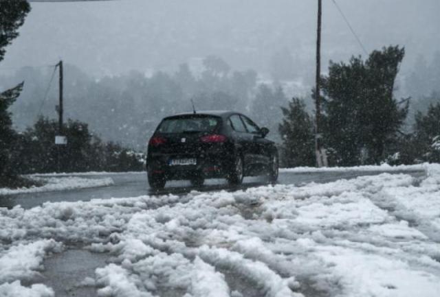 """""""Ασπρίζει"""" η Ελλάδα – Δείτε που χιονίζει και που χρειάζονται αλυσίδες   panathinaikos24.gr"""
