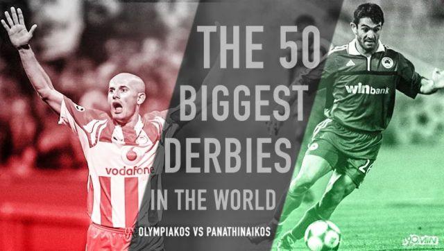 Στα κορυφαία ντέρμπι στον κόσμο τα ματς των δυο «αιωνίων» (Pic) | panathinaikos24.gr