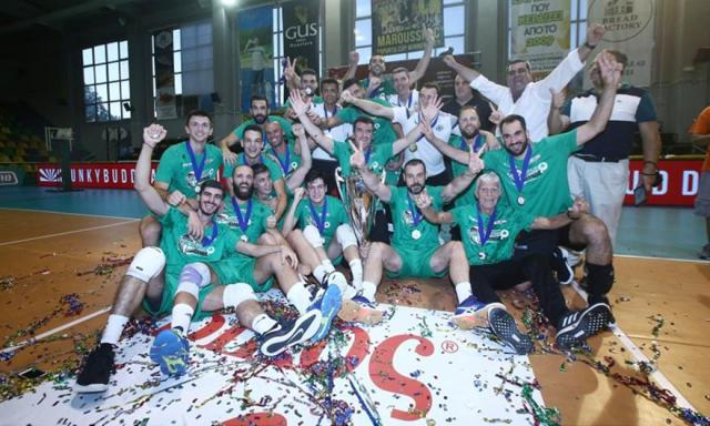 Συγχαρητήρια της ΠΑΕ στην ομάδα βόλεϊ για την κούπα | panathinaikos24.gr