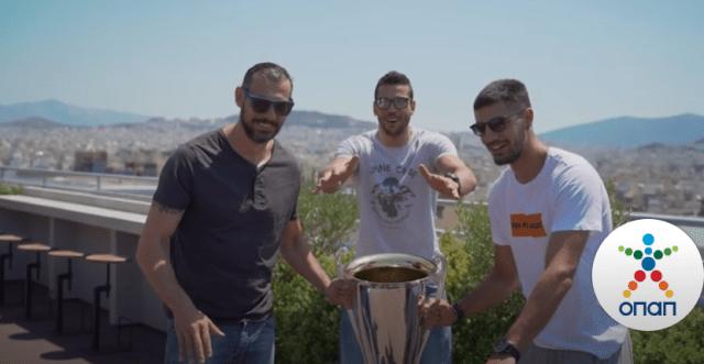 Οι πρωταθλητές σήκωσαν ξανά το κύπελλο!   panathinaikos24.gr