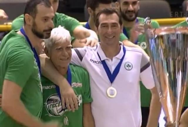 Μεγαλείο από Πανταλέοντα: Σήκωσε το πρωτάθλημα με Αγραπιδάκη, Ανδρεόπουλο (vid)   panathinaikos24.gr