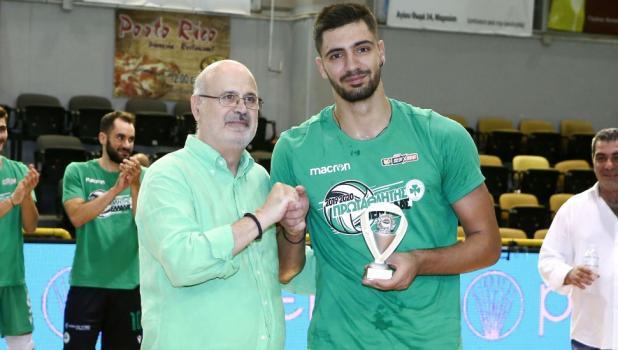 MVP Ράπτης: «Οι τίτλοι ανήκουν στον κόσμο του Παναθηναϊκού» | panathinaikos24.gr