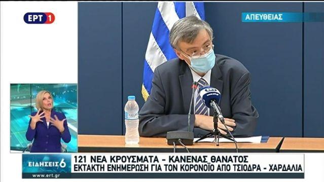 Κορωνοϊός: 121 νέα κρούσματα στην Ελλάδα!   panathinaikos24.gr