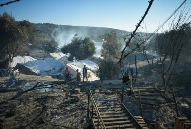 Έκτακτο: Νέα φωτιά στη Μόρια | panathinaikos24.gr