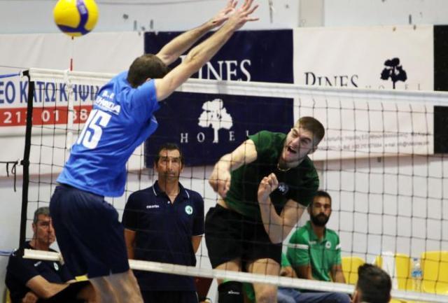 Παναθηναϊκός – Ηρακλής στην πρεμιέρα της Volley League | panathinaikos24.gr