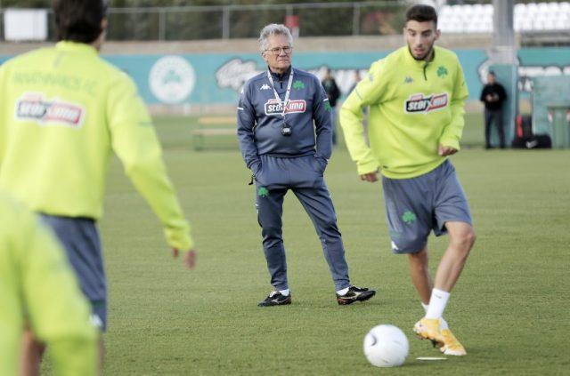 Η δοκιμή του Μπόλονι στη σημερινή προπόνηση | panathinaikos24.gr