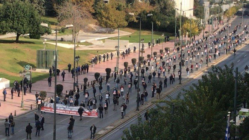 Πορεία του ΚΚΕ στην αμερικανική Πρεσβεία για το Πολυτεχνείο (pics+vid)   panathinaikos24.gr