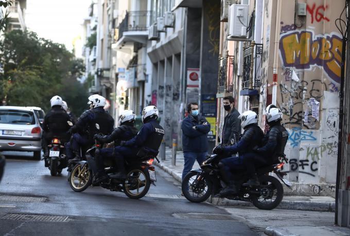 Γρηγορόπουλος: Προσαγωγές ατόμων από την πλατεία Εξαρχείων   panathinaikos24.gr