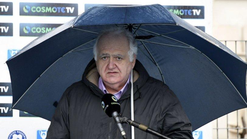 Χριστοβασίλης: «Οι διαιτητές ακύρωσαν το ματς χωρίς να βγουν στο γήπεδο» | panathinaikos24.gr