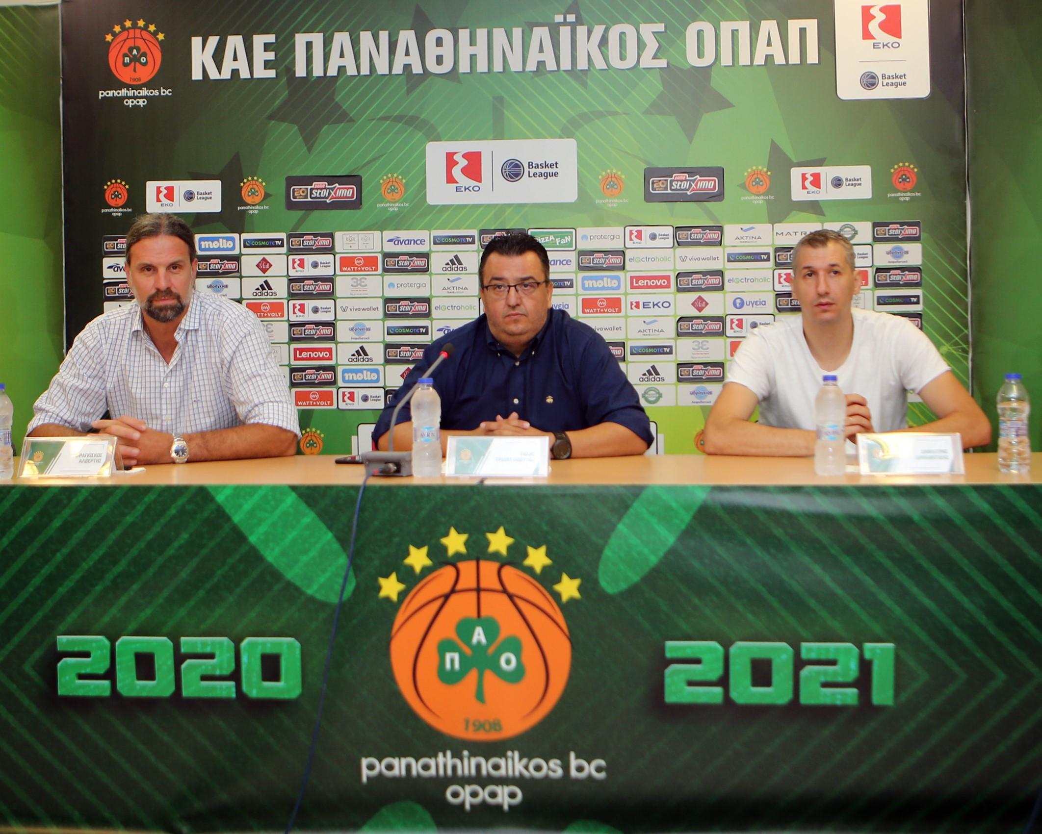 Παναθηναϊκός: Συνεχίζουν μαζί Τριαντόπουλος, Διαμαντίδης, Αλβέρτης | panathinaikos24.gr