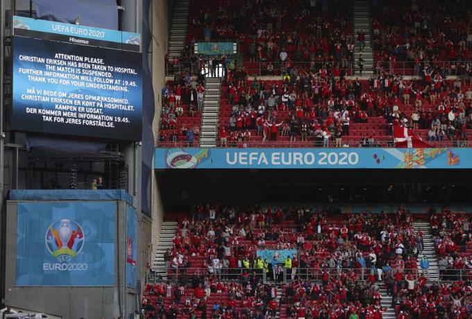 Αρχίζει ξανά το Δανία – Φινλανδία (pic)   panathinaikos24.gr