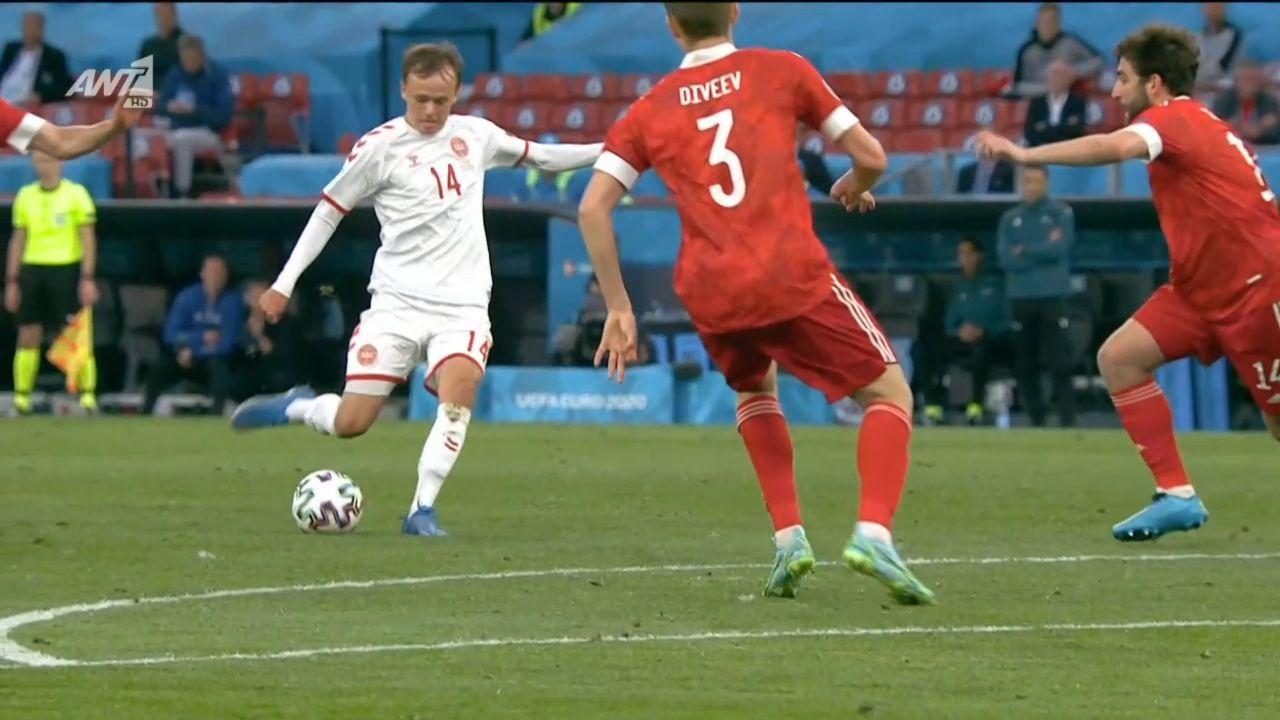 Ρωσία – Δανία : 0-1 με ΓΚΟΛΑΡΑ ο Ντάμσγκααρντ (vid) | panathinaikos24.gr