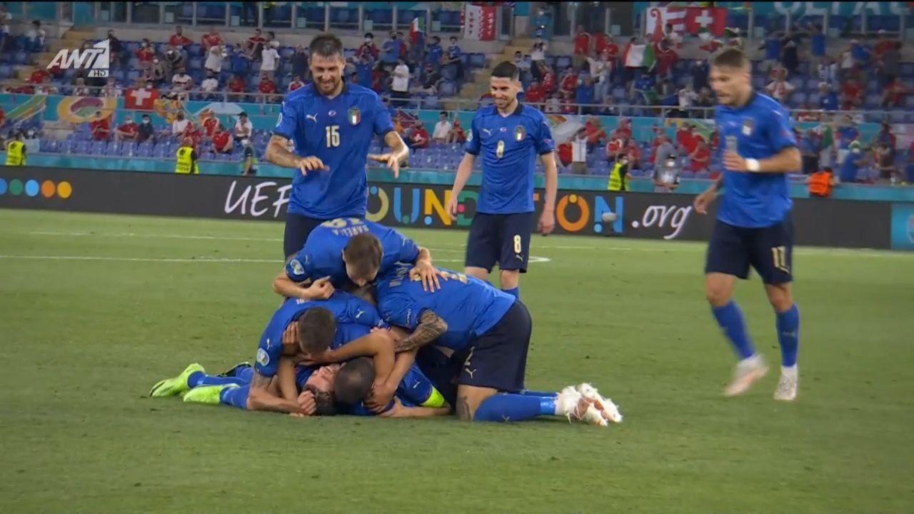 Ιταλία – Ελβετία: 2-0 ο Λοκατέλι στο ματς της ζωής του (vid)   panathinaikos24.gr