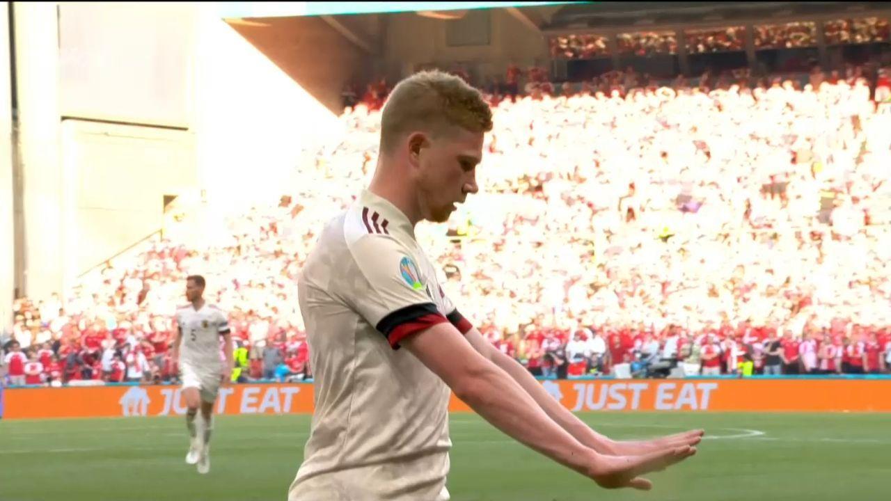 Δανία – Βέλγιο : Εποποιία το 2-1 από Λουκάκου-Αζάρ και σκόρερ Ντε Μπρόινε (vid) | panathinaikos24.gr