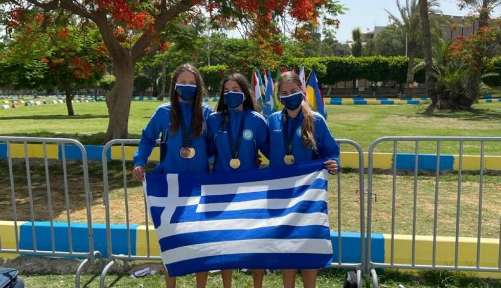 Παναθηναϊκός: Χάλκινο μετάλλιο η Νίκα στο Παγκόσμιο Πρωτάθλημα Laser Run Cairo   panathinaikos24.gr