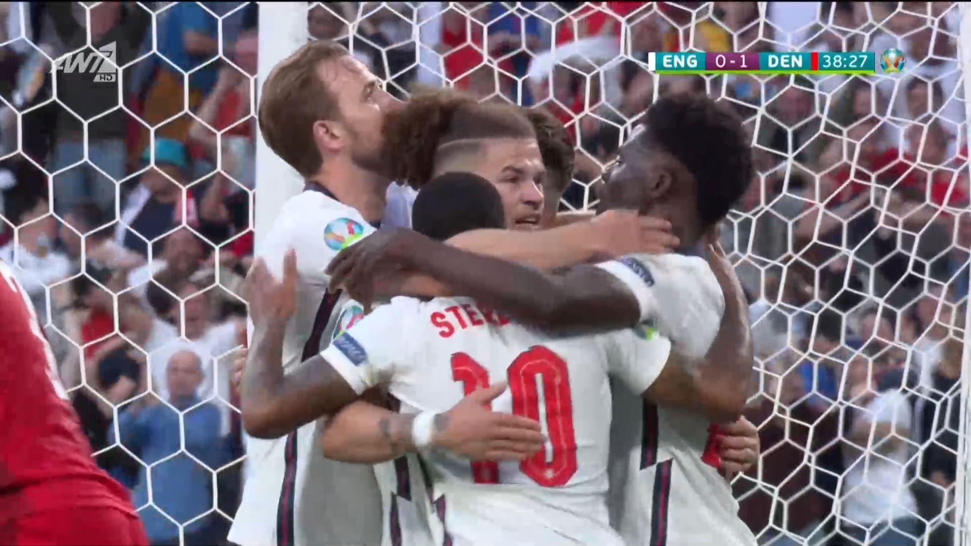 Αγγλία – Δανία: Αυτογκόλ και 1-1 (vid)   panathinaikos24.gr