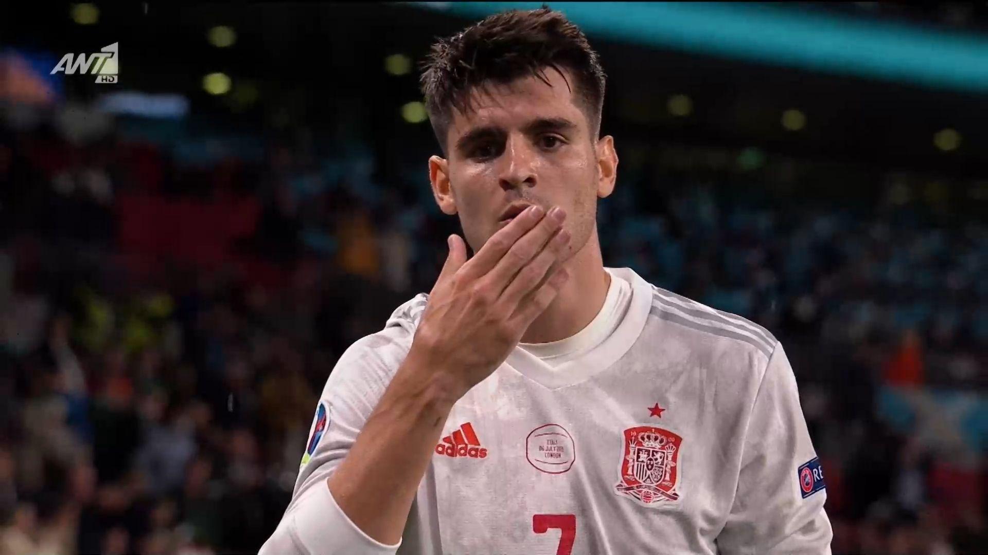 Ιταλία – Ισπανία : 1-1 ο Μοράτα με εκπληκτική ενέργεια (vid)   panathinaikos24.gr