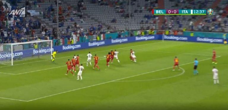 Βέλγιο – Ιταλία 0-1 με μαγική ενέργεια του Μπαρέλα (vid)   panathinaikos24.gr