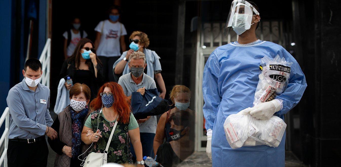 Κορωνοϊός: 2.604 κρούσματα, 5 θάνατοι, 126 διασωληνωμένοι | panathinaikos24.gr