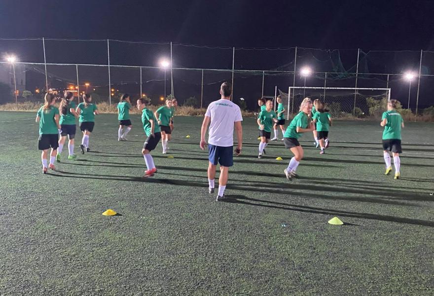 Φιλική νίκη για το ποδόσφαιρο γυναικών | panathinaikos24.gr