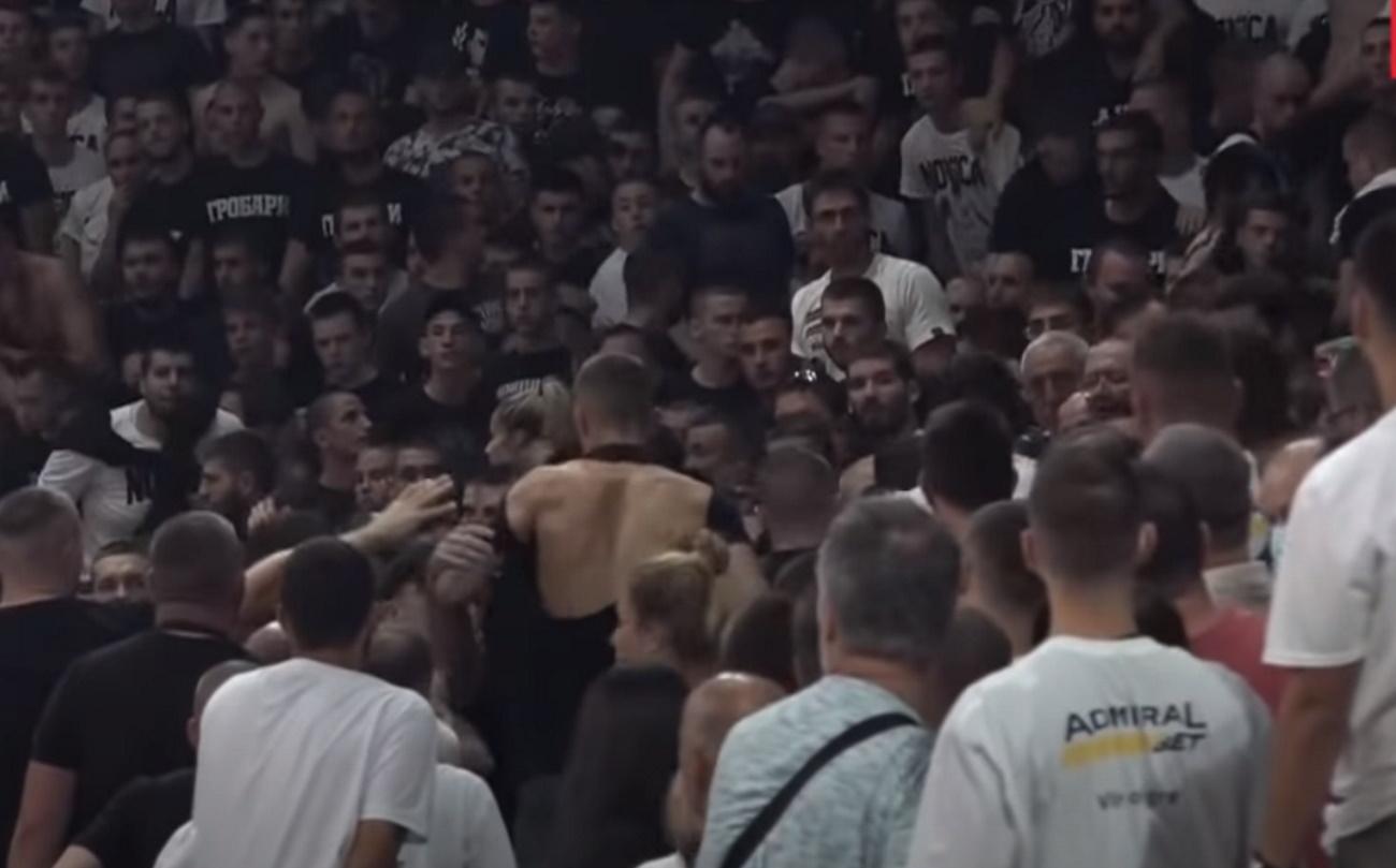 Ξύλο στη Σερβία στο «αντίο» του Ίβκοβιτς (Vid) | panathinaikos24.gr
