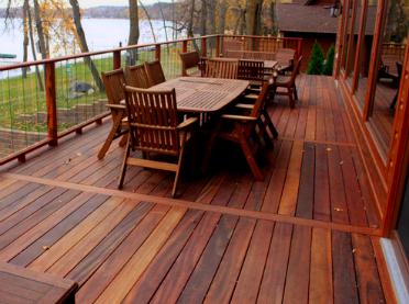gỗ cẩm lai-tigerwood deck