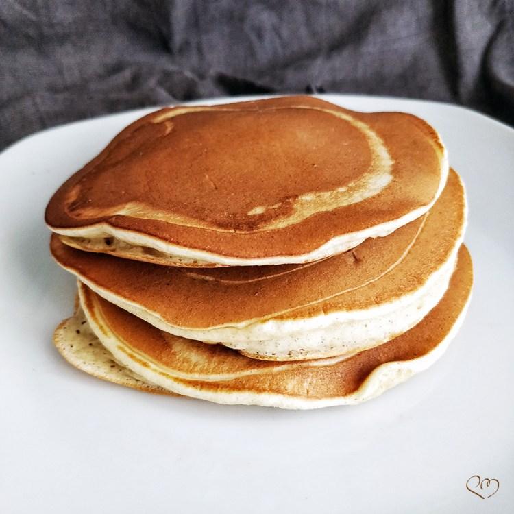 Pancake con esubero di lievito naturale