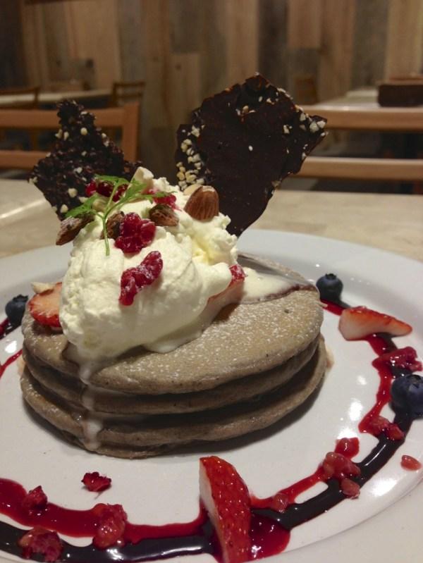 j.s.pancake cafeのパンケーキ