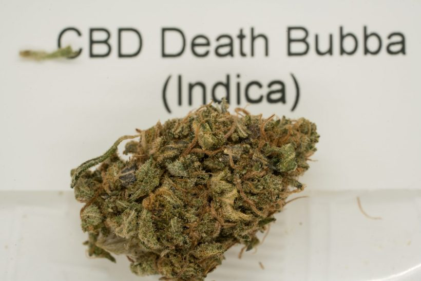 CBD Death Bubba Cannabis Flower