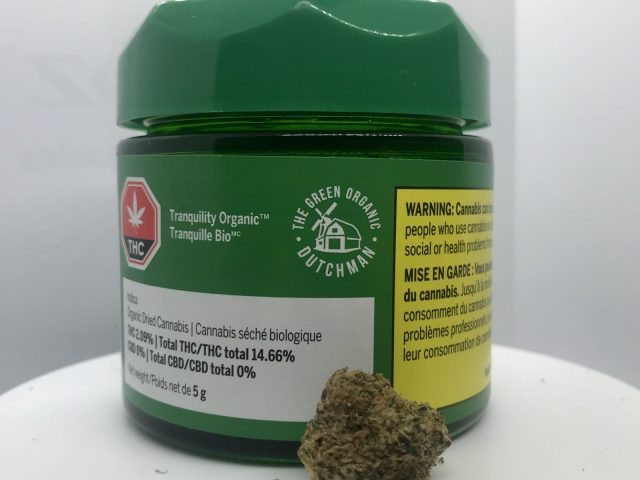 Zombie Kush (Tranquility Organic) by The Green Organic Dutchman