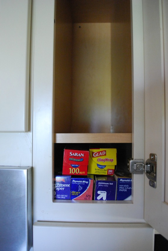 skinny kitchen cabinet chandeliers home depot day 9 organize tall and cabinets you