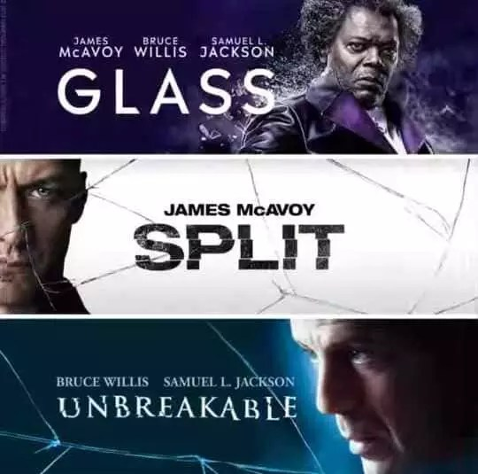 Trilogía de Glass disponible a través de Netflix