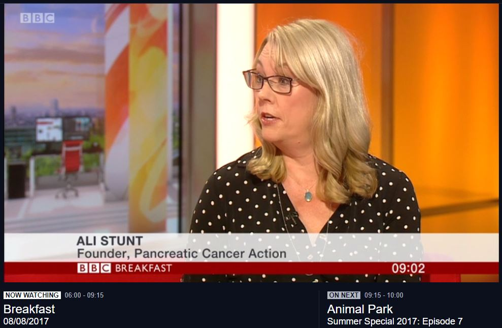 Founder Of Pancreatic Cancer Action Reaches Ten Year