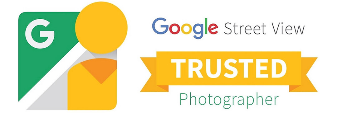 logo google street view trusted photographer - david vincenot