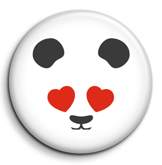 Badge PANDA-TRIBU Passionné